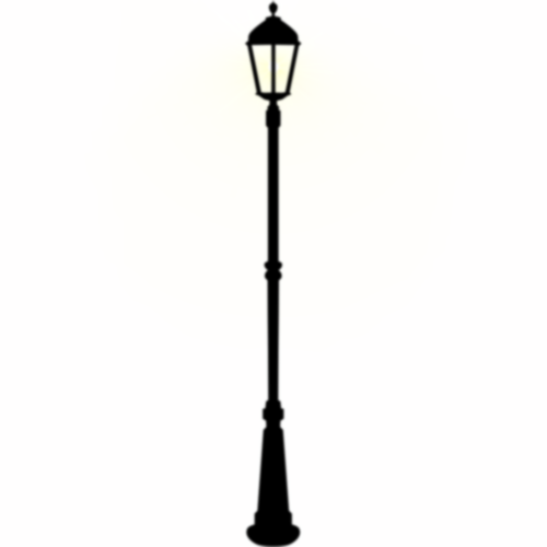 Lamp Post On